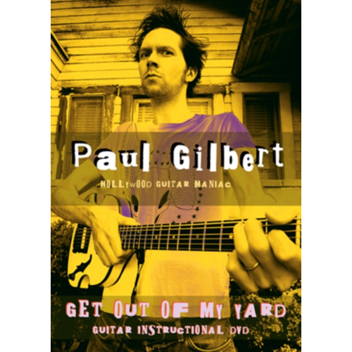 Paul Gilbert: Get Out Of My Yard (UK-import) (DVD)