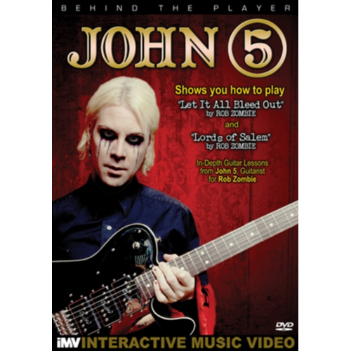John 5: Behind The Player (UK-import) (DVD)