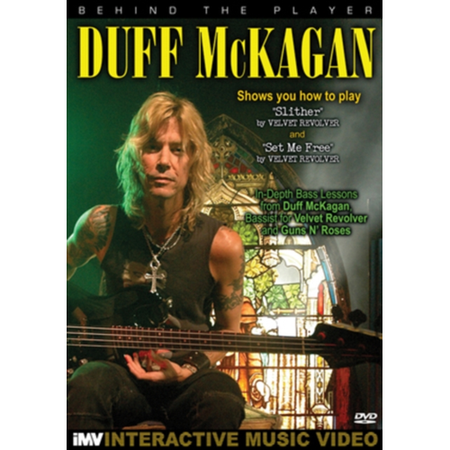 Duff Mckagan: Behind The Player (UK-import) (DVD)