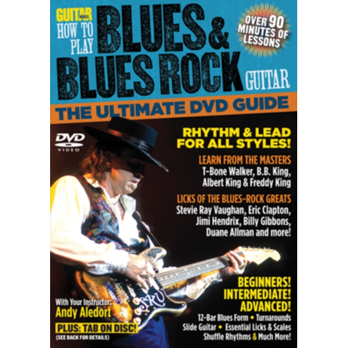 Guitar World: How To Play Blues And Blues Rock Guitar (UK-import) (DVD)
