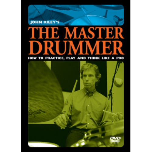 The Master Drummer - How to Practice, Play, and Think Like a Pro (UK-import) (DVD)