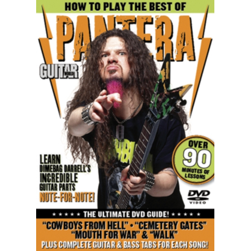 Guitar World: How To Play The Best Of Pantera (UK-import) (DVD)