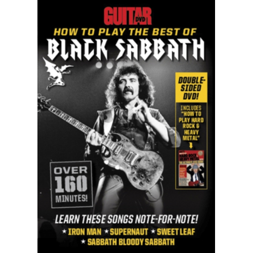 Guitar World: How To Play The Best Of Black Sabbath (UK-import) (DVD)