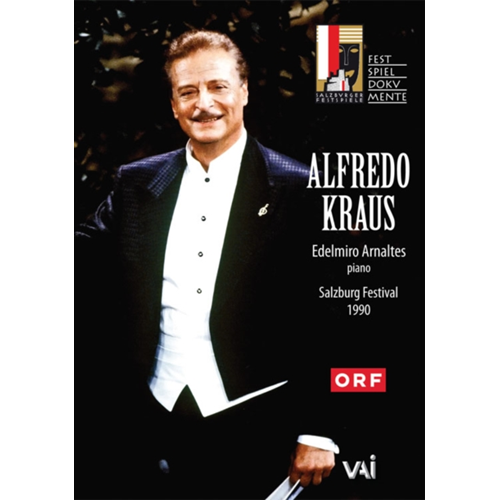 Alfredo Kraus: 1990 Salzburg Recital (UK-import) (DVD)
