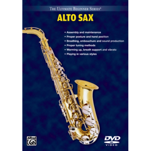 Ultimate Beginner: Alto Saxophone - Volume 1 And 2 (UK-import) (DVD)
