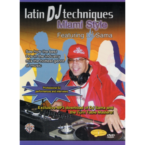 Latin DJ Techniques - Miami Style (UK-import) (DVD)