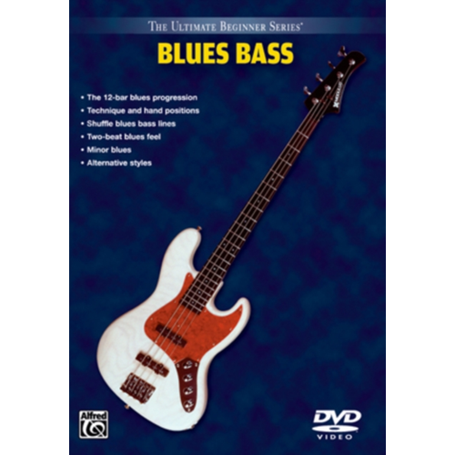 Ultimate Beginner: Blues Bass - Steps 1 And 2 (UK-import) (DVD)
