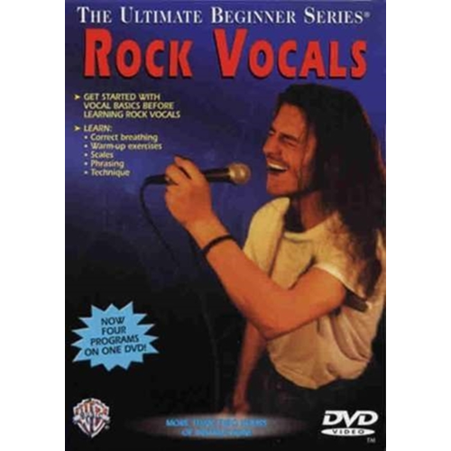 Ultimate Beginner Rock Vocals Vce Dvd0 (UK-import) (DVD)