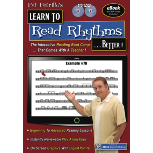 Pat Petrillo's Learn To Read Rhythms... Better! (UK-import) (DVD)