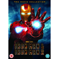 Iron Man 1 And 2 (UK-import) (DVD)