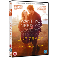 Produktbilde for Like Crazy (UK-import) (DVD)