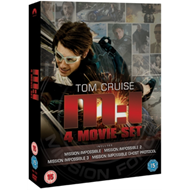 Produktbilde for Mission Impossible 1-4 (UK-import) (DVD)