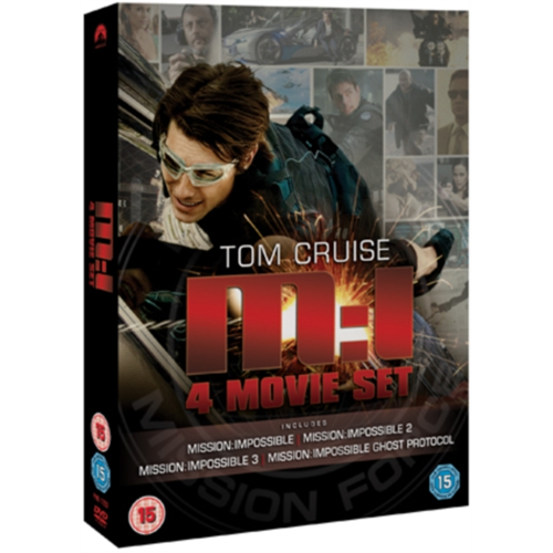 Mission Impossible 1-4 (UK-import) (DVD)