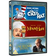 Produktbilde for The Cat in the Hat/Mousehunt/A Series of Unfortunate Events (UK-import) (DVD)