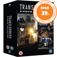 Produktbilde for Transformers: 4-Movie Collection (UK-import) (DVD)