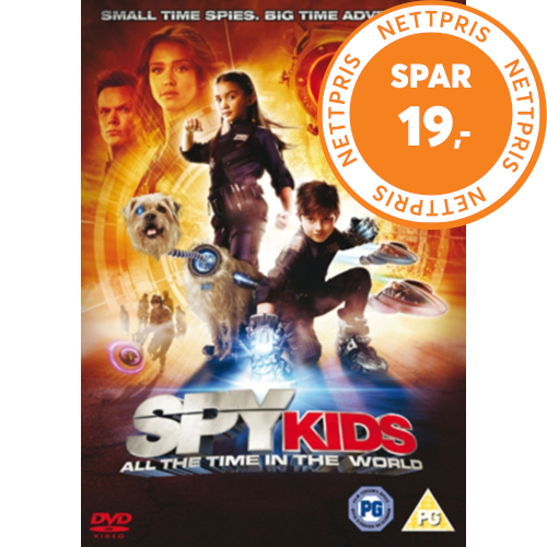 Spy Kids 4 - All The Time In The World (UK-import) (DVD)