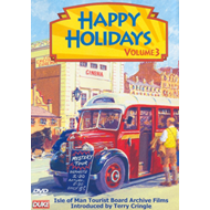 Produktbilde for Happy Holidays: 3 - Isle Of Man Tourist Board Archive Films (UK-import) (DVD)