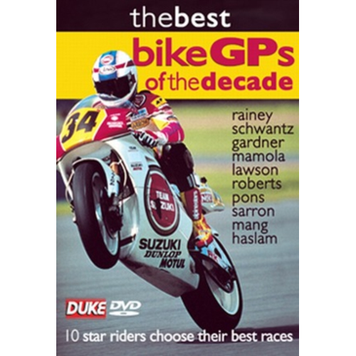 Best Bike Grand Prix Of The Decade (UK-import) (DVD)