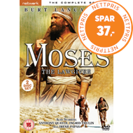 Produktbilde for Moses The Lawgiver: The Complete Series (UK-import) (DVD)