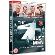 Produktbilde for The Four Just Men: The Complete Series (UK-import) (DVD)