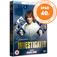 Produktbilde for Jemima Shore Investigates: The Complete Series (UK-import) (DVD)