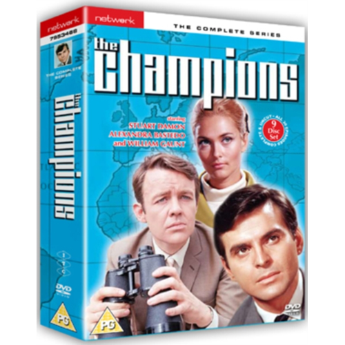 The Champions: The Complete Series (UK-import) (DVD)
