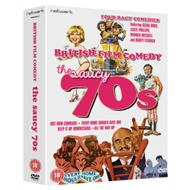 British Film Comedy: The Saucy 70s (UK-import) (DVD)