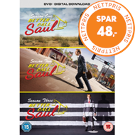 Better Call Saul: Complete Seasons One, Two And Three (UK-import) (DVD)