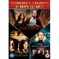 Produktbilde for The Da Vinci Code/Angels and Demons/Inferno (UK-import) (DVD)