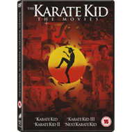 Produktbilde for The Karate Kid/The Karate Kid 2/The Karate Kid 3/Next Karate Kid (UK-import) (DVD)
