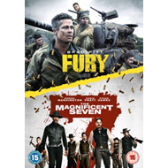 Produktbilde for Fury/The Magnificent Seven (UK-import) (DVD)