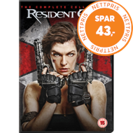 Resident Evil: The Complete Collection (UK-import) (DVD)