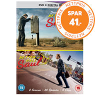 Better Call Saul: Season One & Two (UK-import) (DVD)