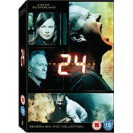 Produktbilde for 24: Season 6 (UK-import) (DVD)
