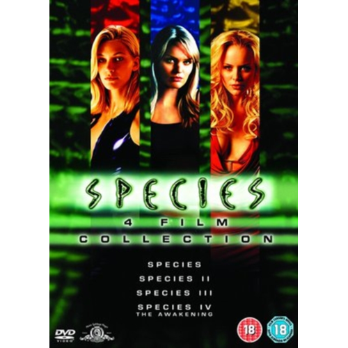 Species 1-4 Collection (UK-import) (DVD)