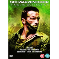 Arnold Schwarzenegger Box Set (UK-import) (DVD)