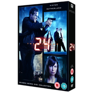 Produktbilde for 24: Season 7 (UK-import) (DVD)