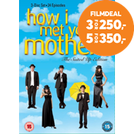 Produktbilde for How I Met Your Mother: The Complete Fifth Season (UK-import) (DVD)