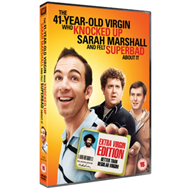 Produktbilde for The 41 Year-old Virgin Who Knocked Up Sarah Marshall and Felt... (UK-import) (DVD)