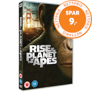 Produktbilde for Rise Of The Planet Of The Apes (UK-import) (DVD)