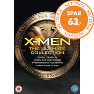 Produktbilde for X-Men: The Ultimate Collection (UK-import) (DVD)