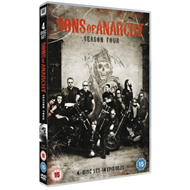 Produktbilde for Sons Of Anarchy: Complete Season 4 (UK-import) (DVD)