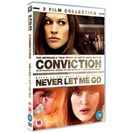 Conviction/Never Let Me Go (UK-import) (DVD)
