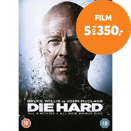 Produktbilde for Die Hard Quadrilogy (DK-import) (DVD)