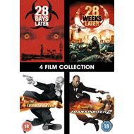 28 Days Later/28 Weeks Later/The Transporter/The Transporter 2 (UK-import) (DVD)