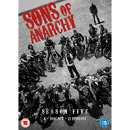 Produktbilde for Sons Of Anarchy: Complete Season 5 (UK-import) (DVD)