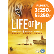 Produktbilde for Life Of Pi (UK-import) (DVD)