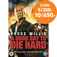 Produktbilde for A Good Day to Die Hard (UK-import) (DVD)