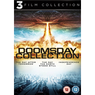 Produktbilde for Day The Earth Stood Still/Day After Tomorrow/Independence Day (UK-import) (DVD)