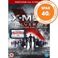 Produktbilde for X-Men And The Wolverine Adamantium Collection (UK-import) (DVD)